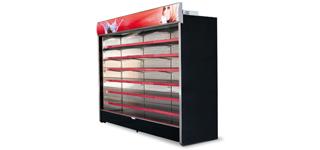 King AT (+2°C…+8°C) - Beépített aggregátoros fali hűtők