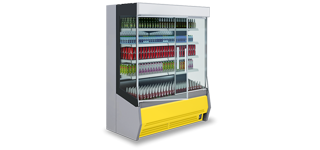 Timor DU (+2°C...+10°C) - Beépített aggregátoros fali hűtők