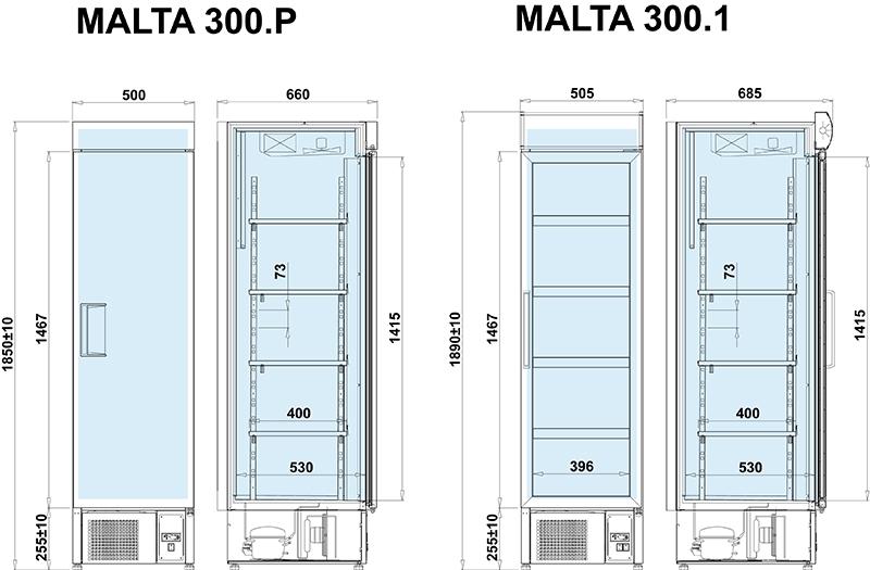 Malta 300 P (+3°C…+7°C)