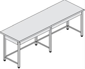 Rozsdamentes asztalok
