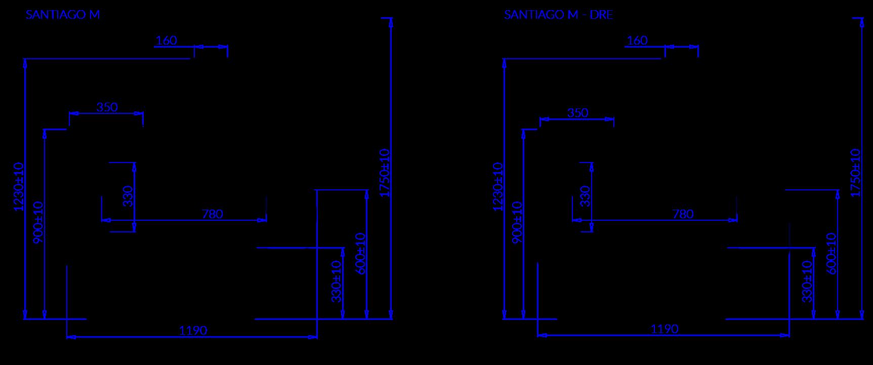 Santiago M (-10°C…-18°C)