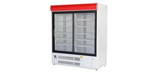 Sch 1-2 (+2C°…+10°C) - Üvegajtós hűtőszekrények