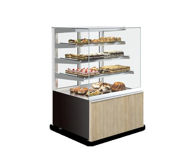 Cube 3P  süteményes hűtőpult