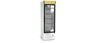 Ewa 500.1 (+2°C…+8°C) - Üvegajtós hűtőszekrények