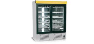 Ola 1400/2 (+2°C…+8°C) - Üvegajtós hűtőszekrények