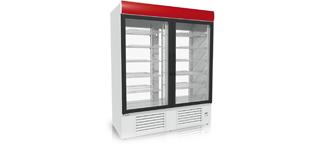 Ola 1400/4 (+2°C…+8°C) - Üvegajtós hűtőszekrények